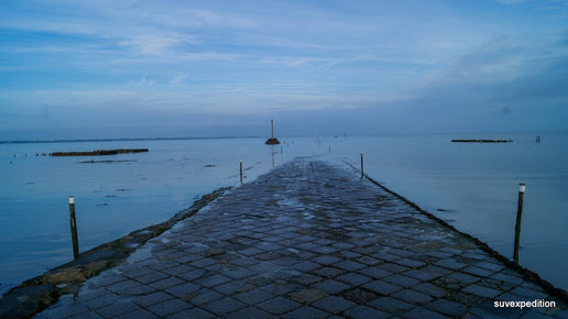 Картинка: Бретань. Atlantic coast. Le Passage du Gois